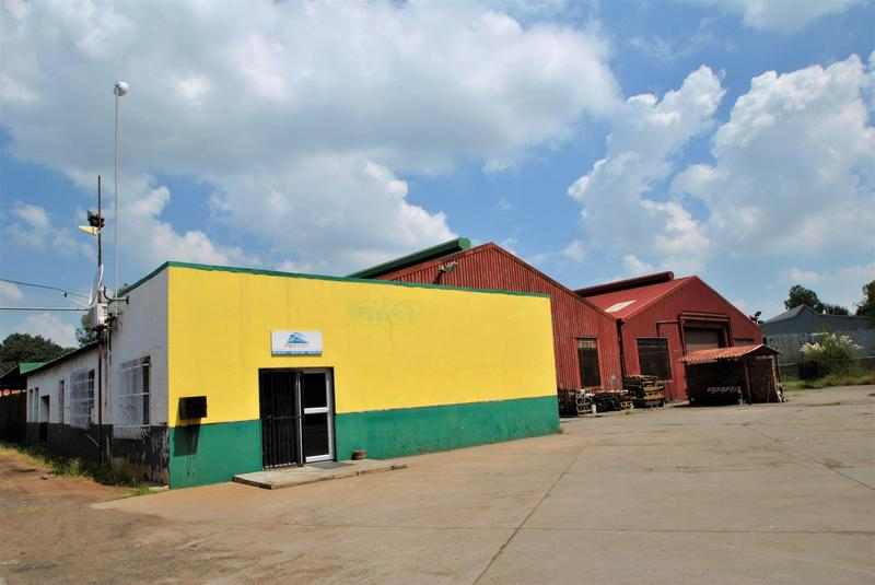Industrial Property For Sale in Powerville, Vereeniging