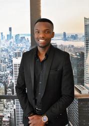 Edgar Nche, estate agent